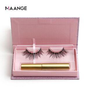 DHgate 3d mink lashes false eyelashes natural hair imitation sable magnetic false eyelashes with magnetic eyeliner liquid d300729