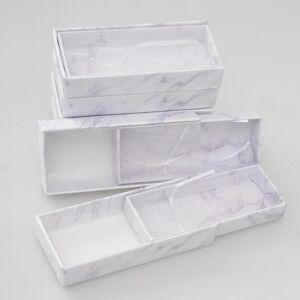 DHgate 10pcs eyelash packaging box wholesale lashes boxes make up empty eyelash package boxes case 25mm magnetic lashes rectangle box