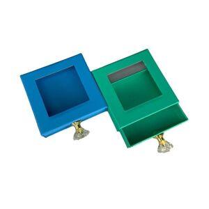 DHgate shegoal 50pcs wholesale marble lash box pink packaging box fake 3d mink lashes boxes faux cils strip diamond magnetic case empty
