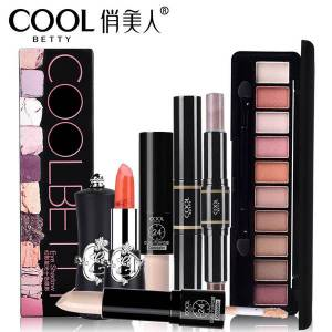 DHgate makeup set eye shadow lipstick concealer highlighter cosmetics beauty tool for girl gift for ing