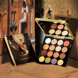 DHgate 16 color egyptian queen eye shadow set egyptian eye shadow pearl matte non-flying powder color makeup