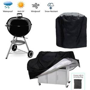 DHgate tools & accessories bbq grill cover waterproof outdoor barbecue heavy duty anti sun rain protective for weber round rectangle
