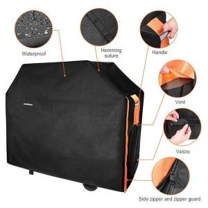 DHgate tools & accessories universal 300d heavy duty bbq grill grills cover design barbeque waterproof rain for gas charcoal electric barbe d40