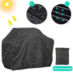 DHgate tools & accessories outdoor bbq cover waterproof protective rainproof dust anti-uv round rectangle weber heavy duty grill barbecue