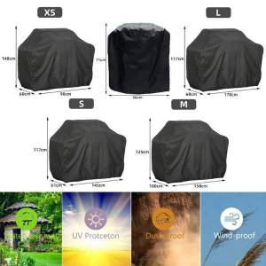 DHgate tools & accessories bbq grill barbeque cover anti-dust waterproof weber heavy duty charbroil outdoor rain protective barbecue 5 size