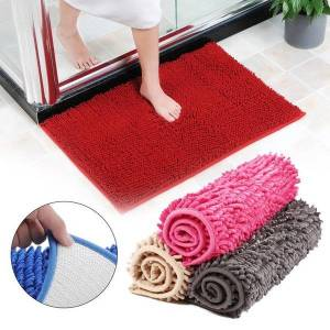DHgate rectangle dining room chenille mattress bright anti-skid chenille rug carpet sofa decoration warm fluffy floor home