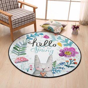 DHgate 3d mat cartoon carpet area rug for living room round yoga mat for kids bedroom carpets door alfombras vloerkleed 1pc/lot