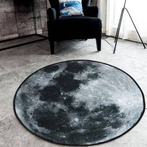 DHgate 3d carpet galaxy pattern rugs and carpets for home living room kids rugs carpets round door mat alfombras vloerkleed home decor