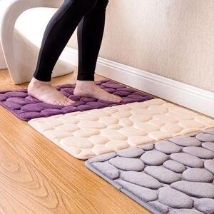 DHgate massage coral fleece bathroom memory foam rug kit toilet pattern bath non-slip mats floor carpet set mattress for bathroom decor