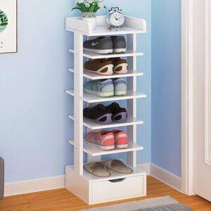 DHgate shoe rack household economical shoe multilayer foyer rack doorway province space simple storage1
