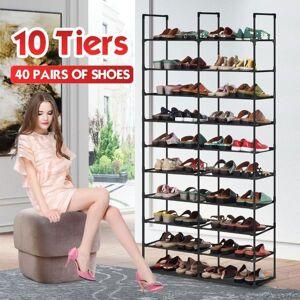 DHgate 10 layer shoe rack diy cabinets shoe rack accessories standing living bedroom storage organizer large display shelf