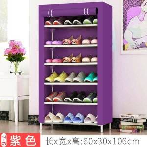 DHgate multi layer dust-proof cloth shoe cabinet can store combined rack, simple rack and non-woven folding clothing & wardrobe storage