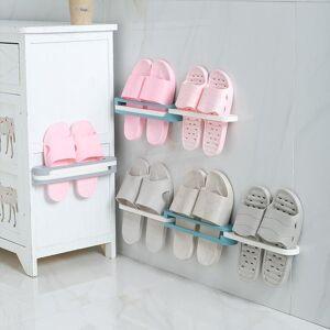 DHgate three-in-one shoe rack durable folding shoes storage footwear support slot space-saving bathroom living room bracket clothing & wardrobe