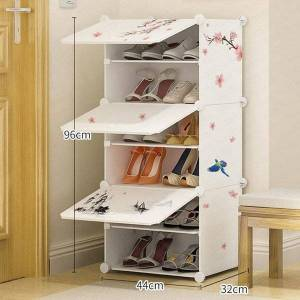 DHgate multi layer shoe cabinet dust proof rack province space economy assembly function modern minimalist hall clothing & wardrobe storage