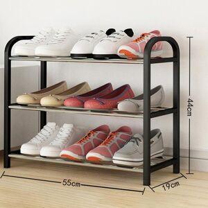 DHgate shoe rack aluminum metal standing diy shoes storage shelf home organizer accessories clothing & wardrobe