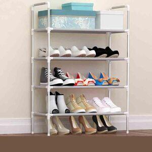DHgate shoe rack organizer aluminum metal standing diy shoes storage shelf accessories clothing & wardrobe