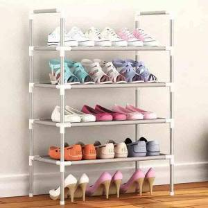 DHgate shoe rack multi-layer simple household economical storage and finishing cabinet assembly small to save space clothing & wardrobe