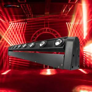 DHgate led bar beam moving head light rgbw 8x12w perfect for mobile dj, party, nightclub,shehds stage lighting