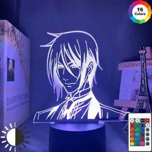 night lights led light anime black butler lamp for bedroom decor kids child birthday gift