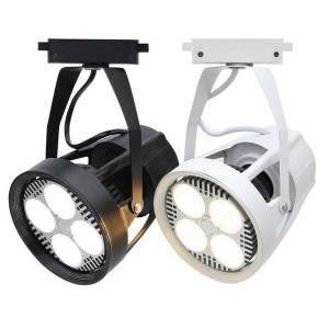 DHgate 2pcs 35w led track light super bright two-wire cob spot lighting 30 for clothing store exhibition hall lights