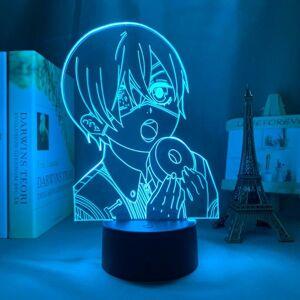 DHgate night lights anime 3d lamp black butler for bedroom decor nightlight birthday gift manga gadget led light bedside