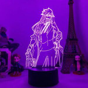 DHgate night lights 3d led lamp anime black butler figure light for room decoration kids child birthday gift table desk nightlight