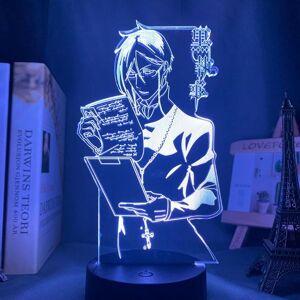 DHgate night lights anime light black butler led for bedroom decoration colorful nightlight gift 3d lamp