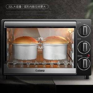 DHgate oven home baking multi-function small automatic large capacity mini 32 liters small electric oven