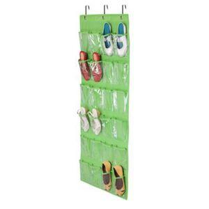 DHgate sale 24 organizer closet holder bag shoe door rack over storage hanging pocket *
