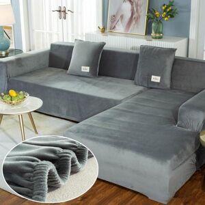 DHgate plush sofa covers chaise longue for living room velvet corner armchair elastic couch