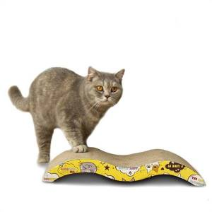 DHgate 2021 new toys risk tablet paper ondulado pad m form cat scratchers moping nail row slasher p4b5