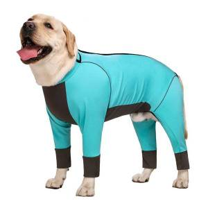 DHgate autumn big winter labrador retriever golden fur medium and large dog joint protection warm waterproof four legged clothing