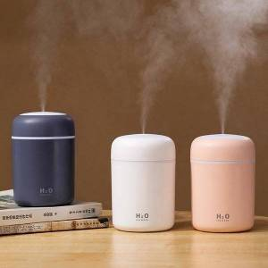 DHgate humidifiers portable 300ml humidifier usb cup aroma diffuser cool mist maker air purifier with romantic light room fragrance