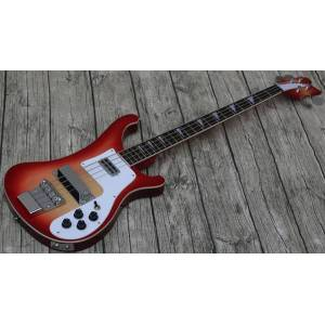 DHgate promotion, custom ric 4 strings cherry 4003 electric bass guitar