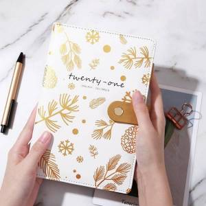 DHgate agenda 2020/2021 planner organizer a5 diary notebook and journal weekly notepad spiral note book travelers buckle schedule daily