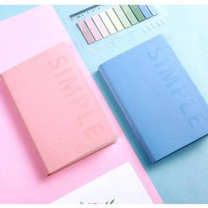DHgate pocket notebook a6 agendas 2021 self-filling planner organzier daily plan weekly monthly journal diary notepad school supplies notepads