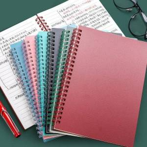 DHgate agenda coil spiral a5 diary notebook grid paper daily planner organizer notepad school office supplies stationery notepads