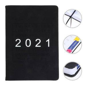 DHgate notepads 1pc calendar notebook simple schedule book 2021 planning daily planner