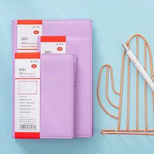 DHgate agenda 2021 daily weekly monthly planner notebook and journals portable a5 48k a6 diary 365 days schedule notepad stationery notepads