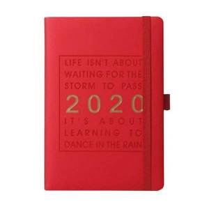 notepads calendar 320 pages thicken notebook daily schedule fashion jan-dec a5 monthly planner english language agenda journal