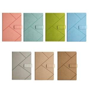 DHgate notepads thicken leather a5 b5 journal notebook business daily planner notepad w/ buckle