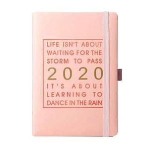 DHgate notepads jan-dec fashion monthly planner a5 gift thicken notebook calendar daily schedule with pen holder agenda journal 320 pages