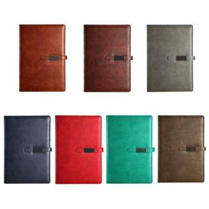 DHgate notepads pu leather a5 b5 journal notebook lined paper daily planner notepad with buckle school supplies dropship