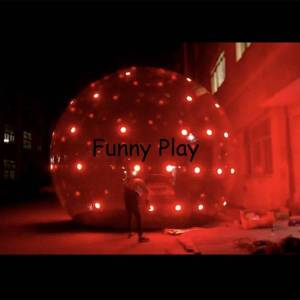 DHgate lighted giant bubble globe for christmas decoration,large led inflatable halloween globe ,p christmas inflatable for sale