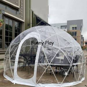 DHgate transparent bubble house outdoor bubble tree tent for camping pvc dome lawn clear igloo tent for coffice restaurant