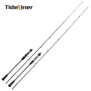 DHgate new 1.80m 1.95m slow jigging rod 30-260g 100-350g pe1.5-3.0# pe 2.5-4.0# spinning casting ocean trolling fishing rod m ml power