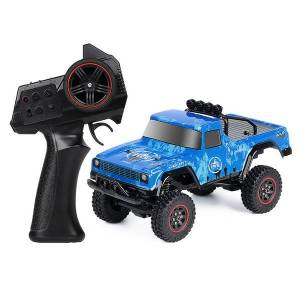 DHgate injora 2.4g 1:18 scale rtr rc rock crawler car off road climbing rc vehicle truck remote control pickup rc car toy