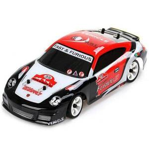 DHgate k969 2.4g 4wd 30km/h high speed rc car toy 4 channels 130 brushed motor electric remote control racing car toy