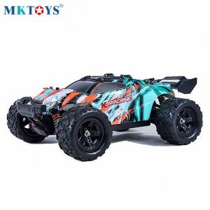 DHgate 1/18 4wd rc car 36km/h high speed off-road updated 2.4g radio control buggy trucks toys for kids children vehicle machine cars