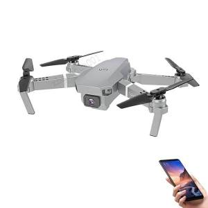 DHgate 100x super e59 rc led mini controlled with accessoires drone 4k hd video camera aerial pgraphy helicopter aircraft 360 degree flip wifi long
